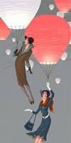 Fly Ladies by Waldemar-Kazak
