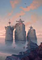 Big steam by Waldemar-Kazak