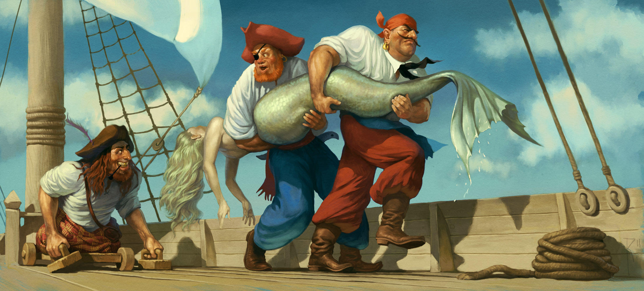 Big fish by Waldemar-Kazak