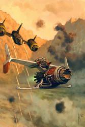 Fly attack by Waldemar-Kazak