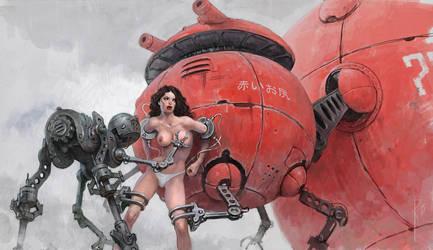 Red Robat by Waldemar-Kazak