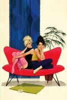 2girls by Waldemar-Kazak