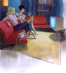 Television two by Waldemar-Kazak
