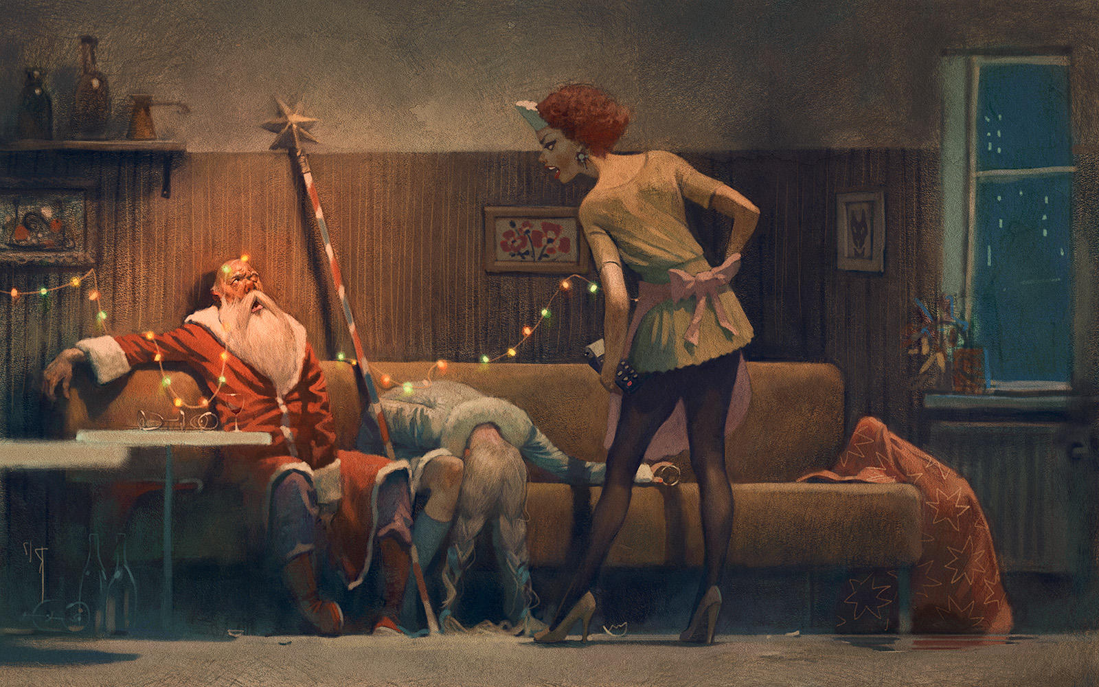 after party by Waldemar-Kazak