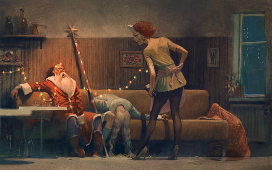 after party by Waldemar-Kazak