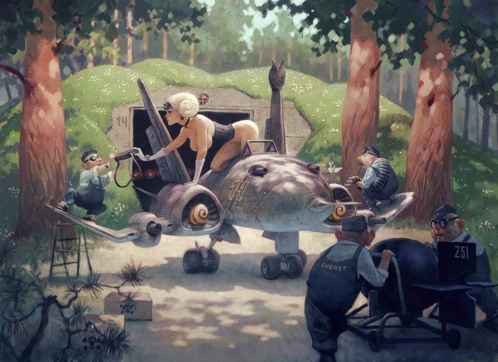 Spring job by Waldemar-Kazak