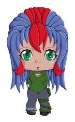 And another chibi. by Lunakiri
