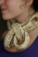 Chain Scarf by RebeccaJewelry