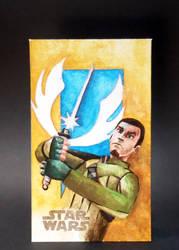 Star wars Rebels fan card (10x6 cm) by Pol-Hun