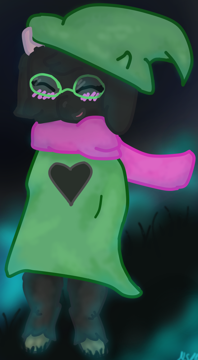 DELTARUNE - Ralsei by FluttershyAdorable