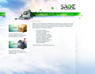 SAGE TCS by v5design