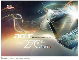 acer aspireone by v5design