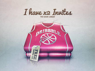 Dribbble Invites Available by v5design