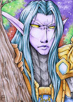Aceo 184 - Barbossa by cross-works