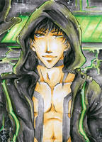 Aceo - Welcome to Bostrum City by cross-works