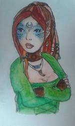 Sian Watercolour by DitzyDM