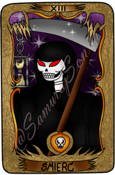 Tarot Card - Death by SamurajSonia