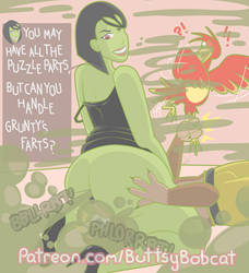 [PATREON] Grunty Butt by stinkyhugs