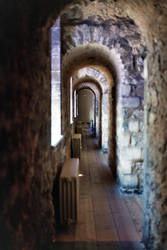 Tower of London Hallway by mmp-stock