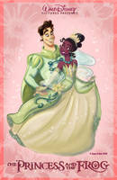 The Princess and the Frog by samycat