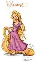 Rapunzel by samycat
