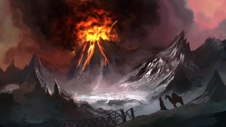 Volcano by TrungTH