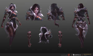 Templar Assassin Concept#1 - Winter Wolf by TrungTH