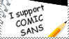 support COMIC SANS by aesoph83594