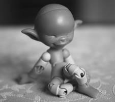 micro BJD body G2 WIP 1 by DreamHighStudio