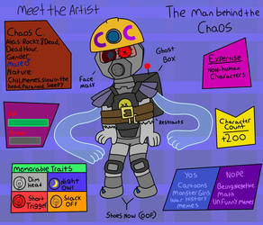 Meet the Artist (2018) by ChaosCrossing