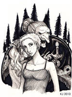 Anja and the Baba Yaga by KJanuary
