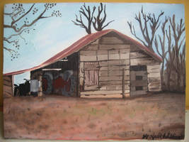 Papa's Barn by kevinmule
