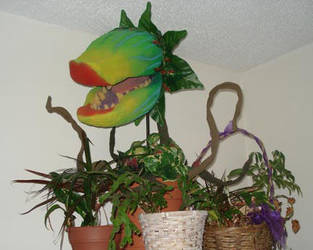 Audrey II Puppet by kevinmule
