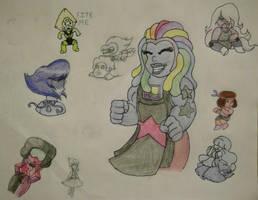 Steven Universe Doodle Dump by Pepsi-Meth
