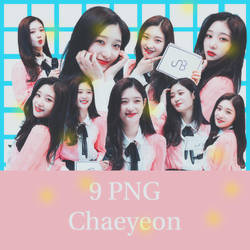 9 PNG Chaeyeon by conbovancute