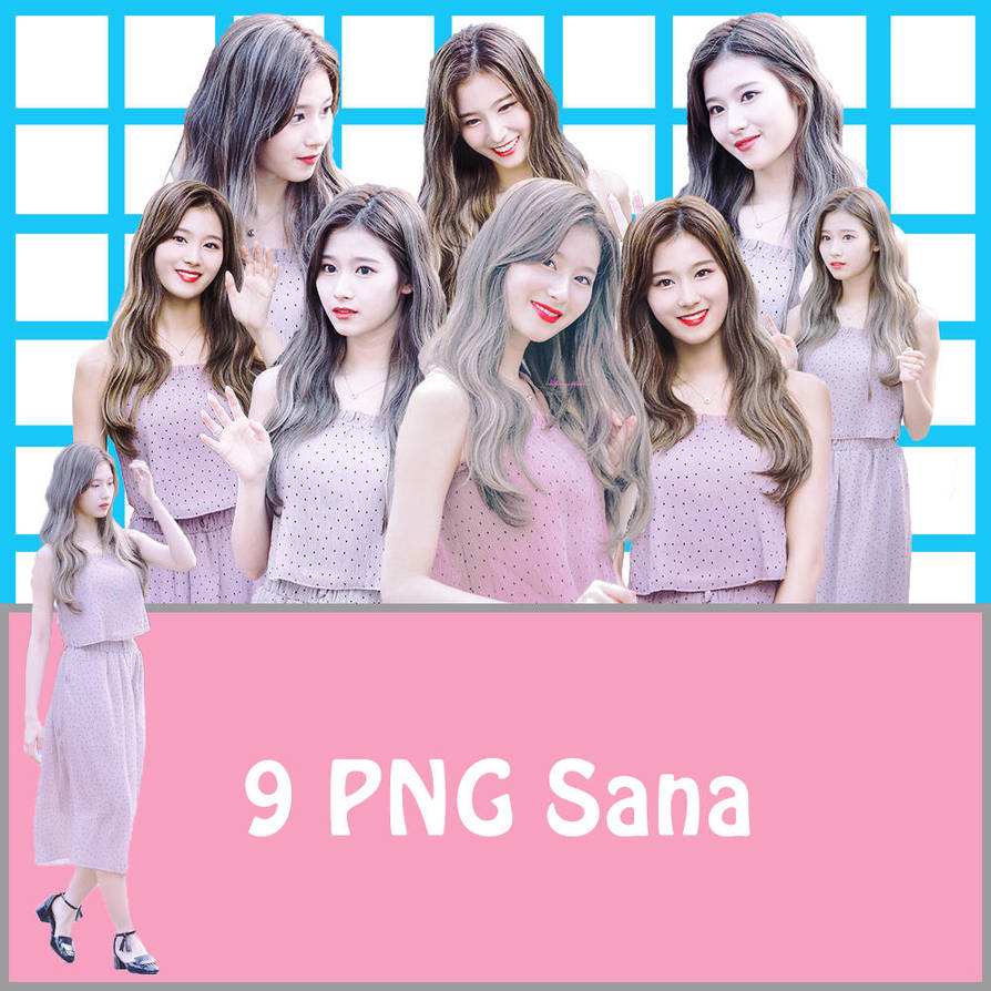 9 PNG Sana by conbovancute
