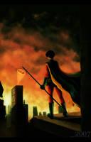 Robin III by duskflare