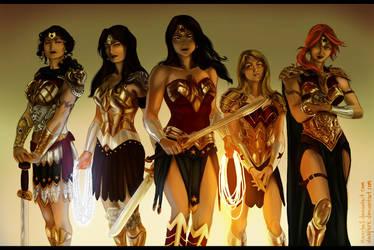 MINARHO1's Wonder Women by duskflare