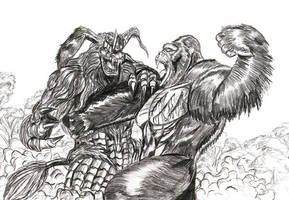 Kong vs. Seesar by Scotwith1T
