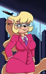 Callie Briggs by DinoDraketakethecake