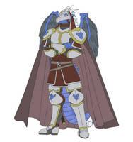 Heroic Gentle Dragons TC 01 - Razen the Shirai by argenholydrake