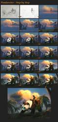 Pandarider steps by I-A-Grafix