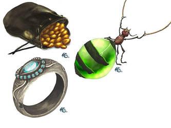 A new set of items by I-A-Grafix