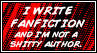 I Write Fanfiction  - So What? by TheInimitableECypher