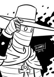 Ragged Rider: The Cowboy Mummy by SKumpf