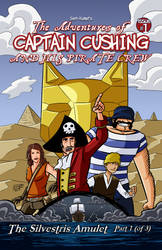 Captain Cushing #1 Cover by SKumpf