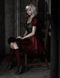 Sad and Alone by DAZ-3D