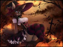Halloween Anubis by teranen
