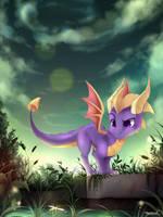 Spyro Swamp by teranen