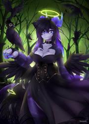 Raven Nova Green by teranen